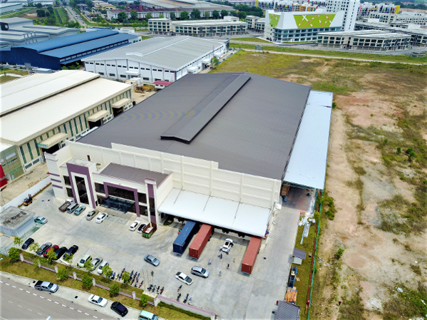 Aerial View of a TransPak Manufacturing Facility
