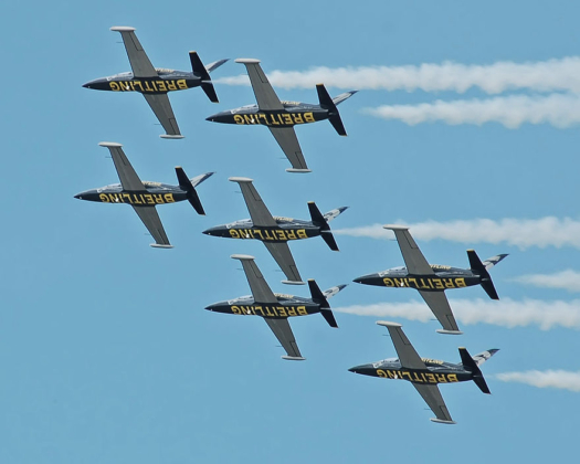 TransPak Provides Exclusive Logistics Support for Breitling Jet Team American Tour at Air Shows across North America image