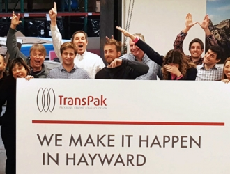 TransPak proud to be featured as a business leader in Hayward, published in this week's SF Business Times. image