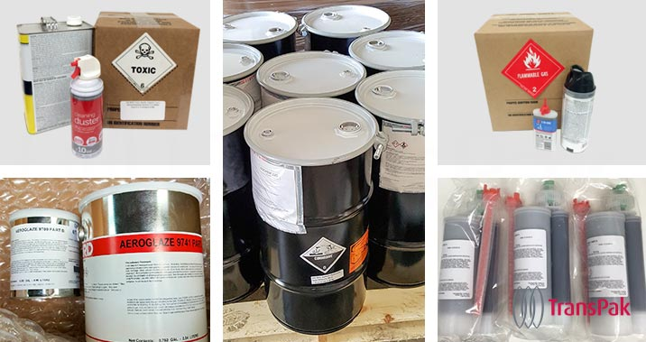 Los Angeles hazardous materials certified packaging services